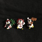 **Penguin w/Hat & Scarf Orn 3A