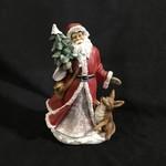 "10"" Folk Santa  Figurine 3A (no box)"