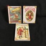 **Vintage Santa Book Orn. 4A