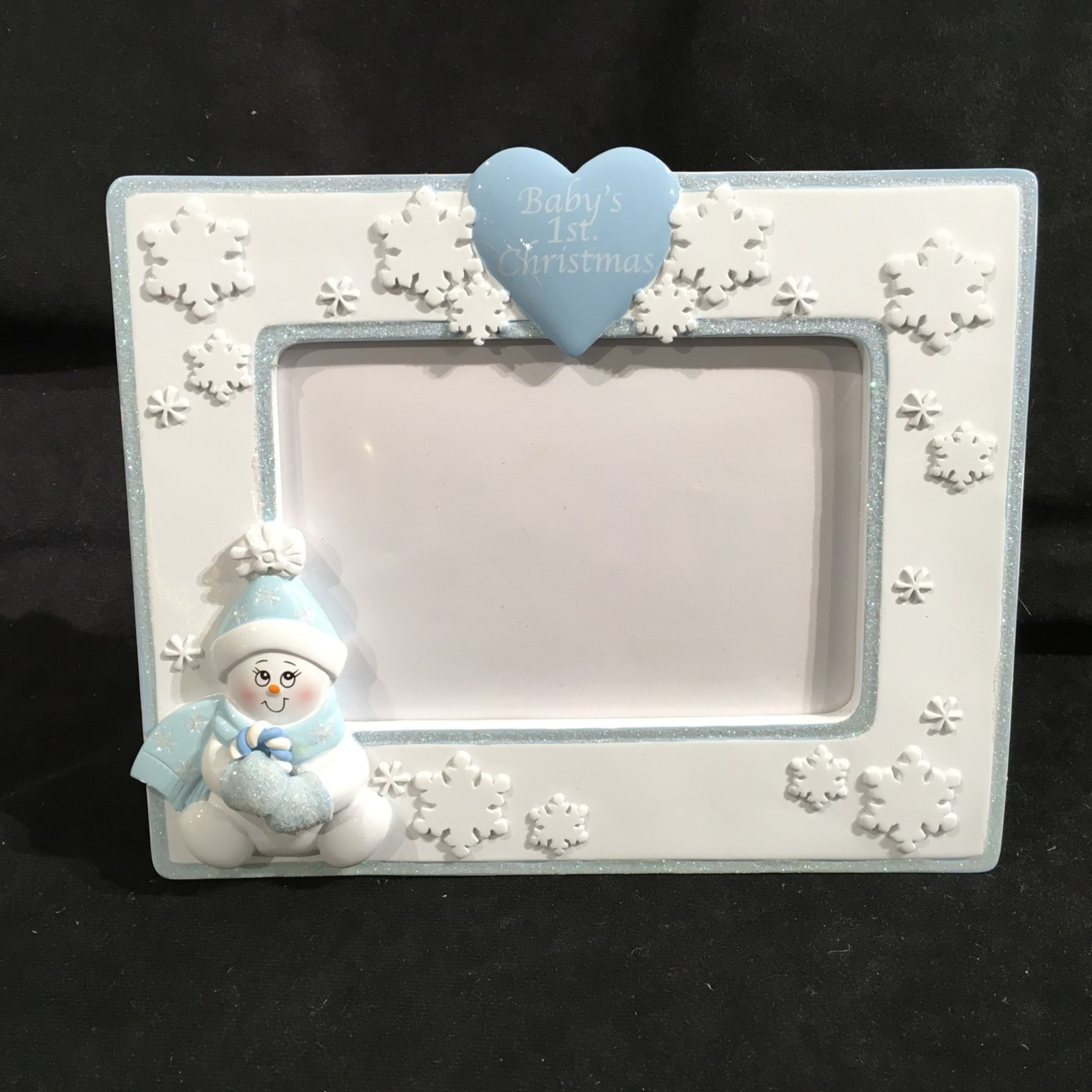 "Snowbaby 4x6"" Photo Frame - Boy"