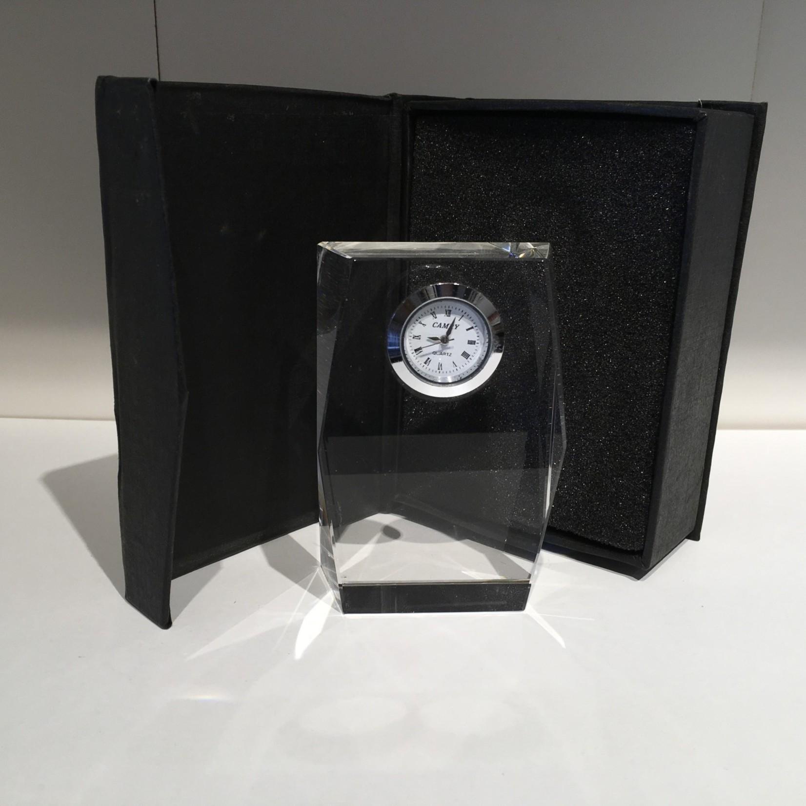 "3.5"" Crystal Clock"