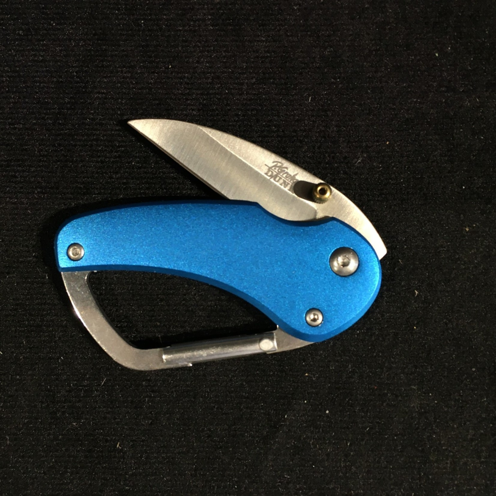 Carabiner Knife - Blue