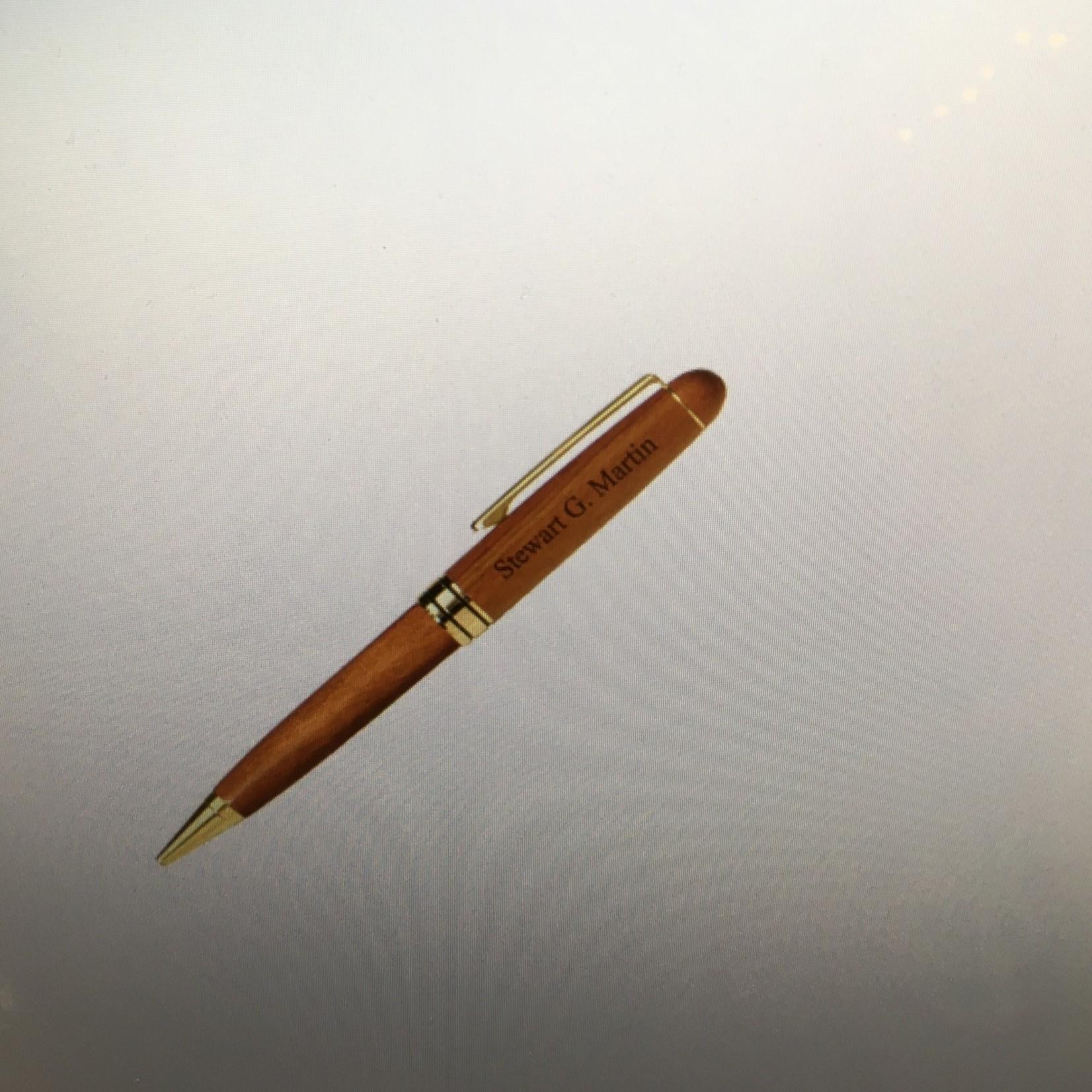 **Wooden Twist Pen