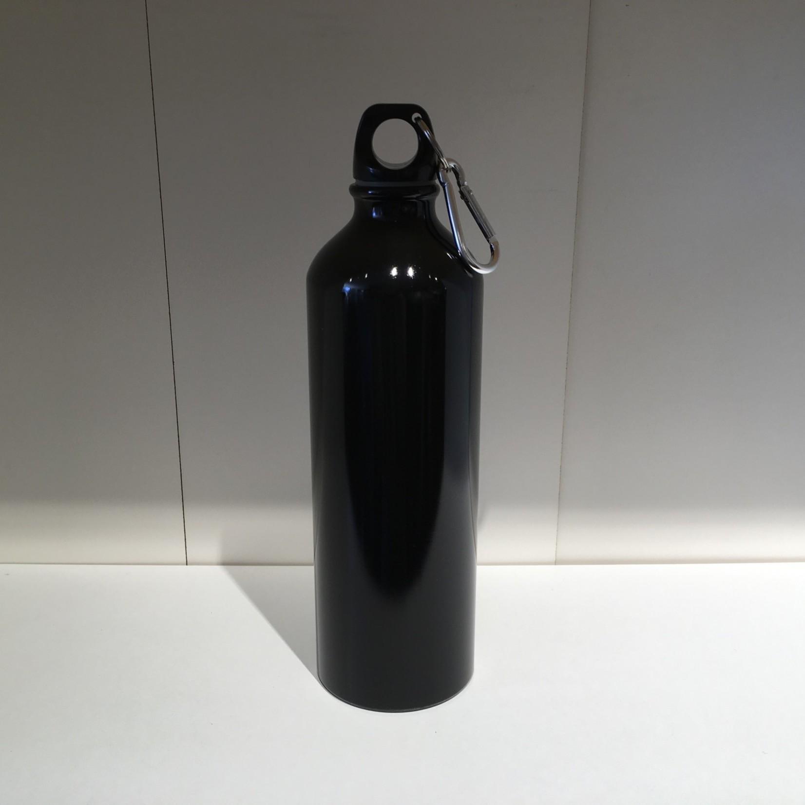 Water Bottle w/clip - Black