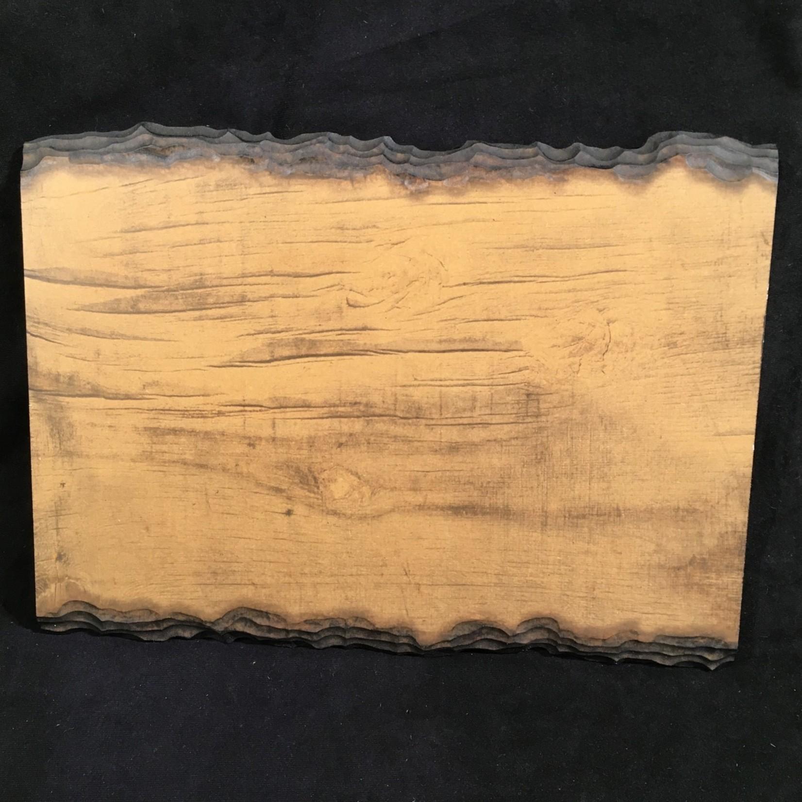"""Sliced Log Plaque (12 x 16"""")"""