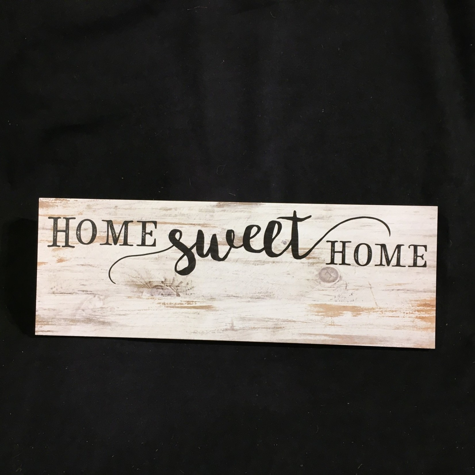 """Home Sweet Home Sign 15.75x5.5"""""""