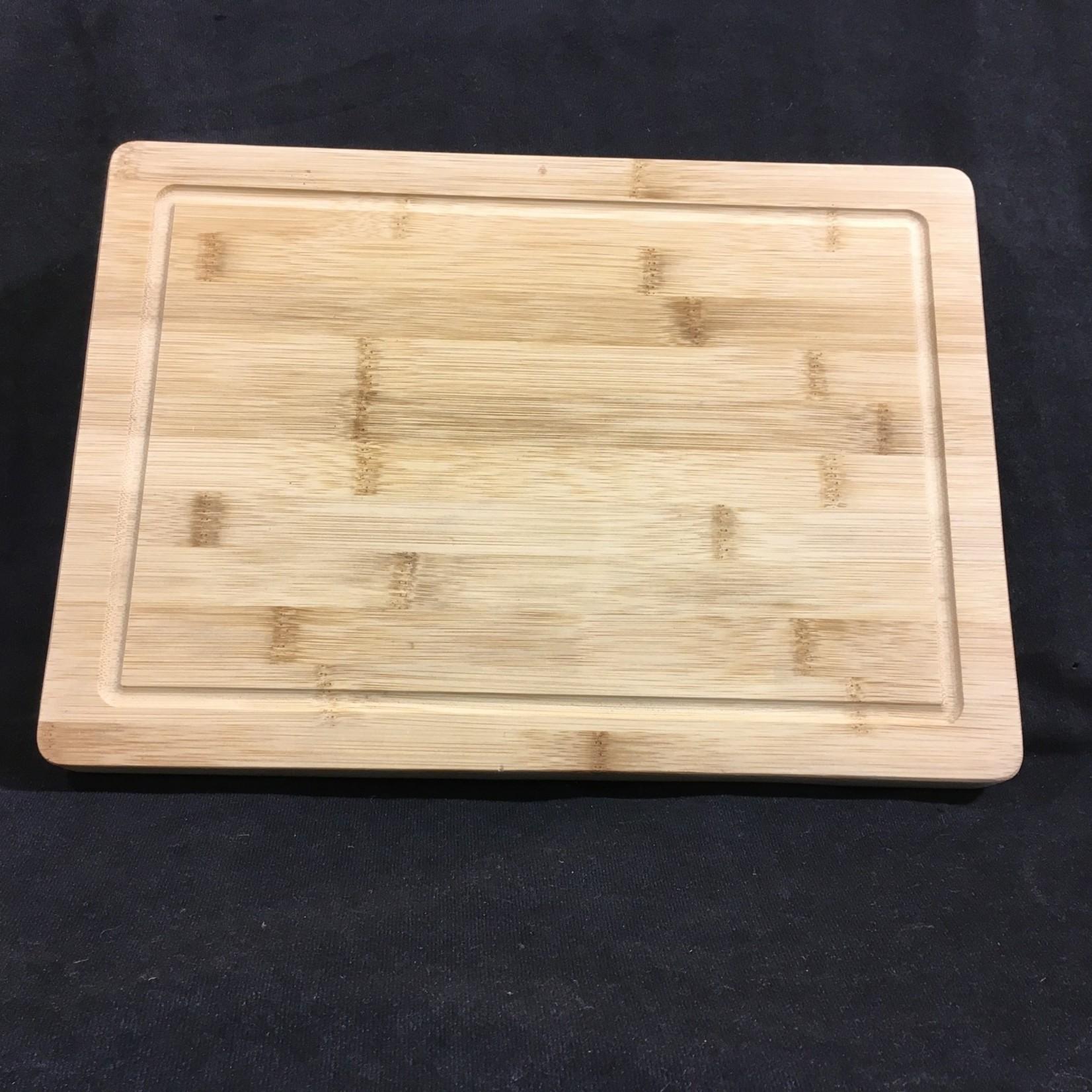 Grooved Bamboo Cutting Board 9.75x13.75