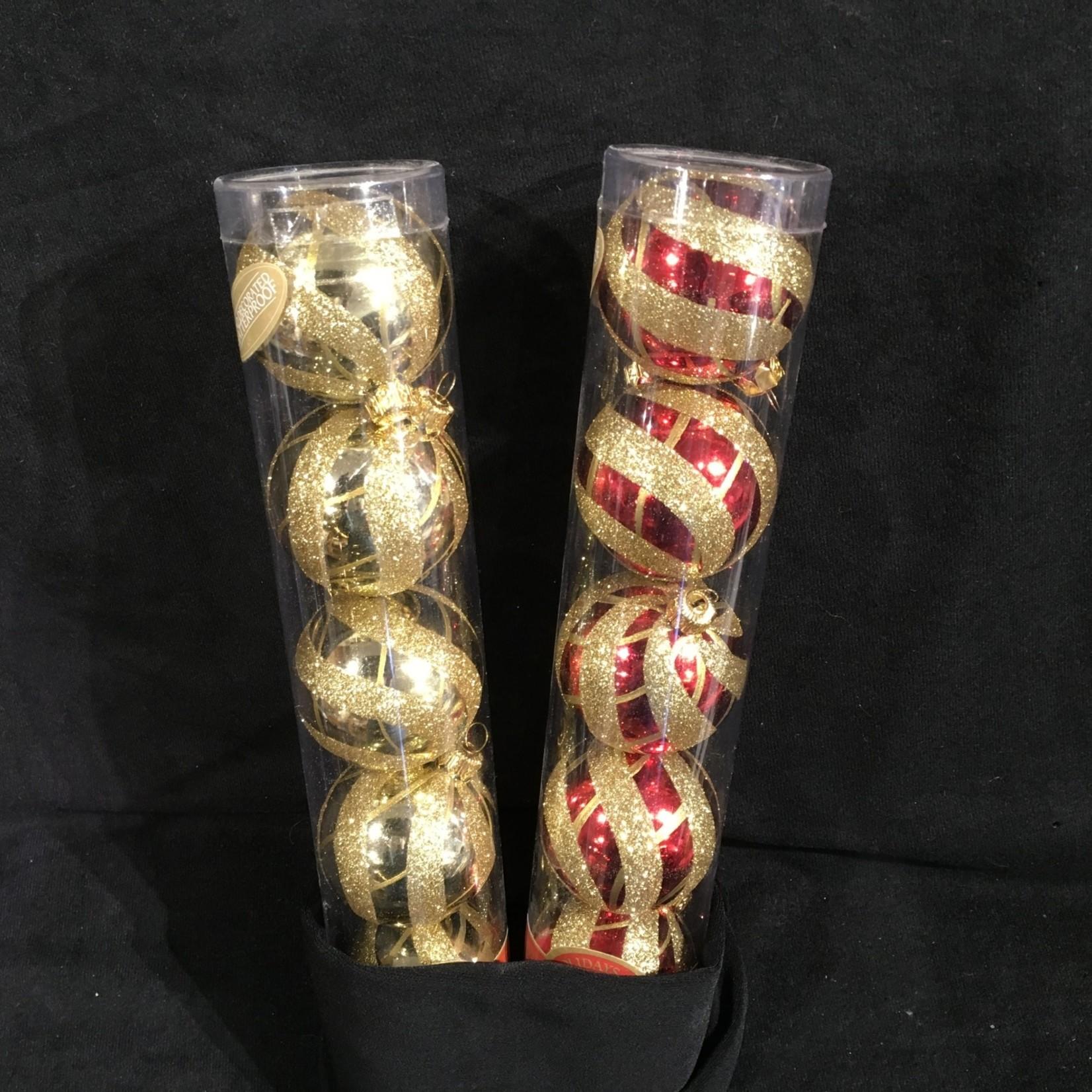Shatterproof Deco Balls 5 pc
