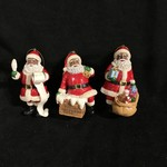 Black Santa Orn 3A