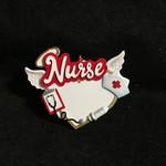 **Nurse w/Angel Wings Orn