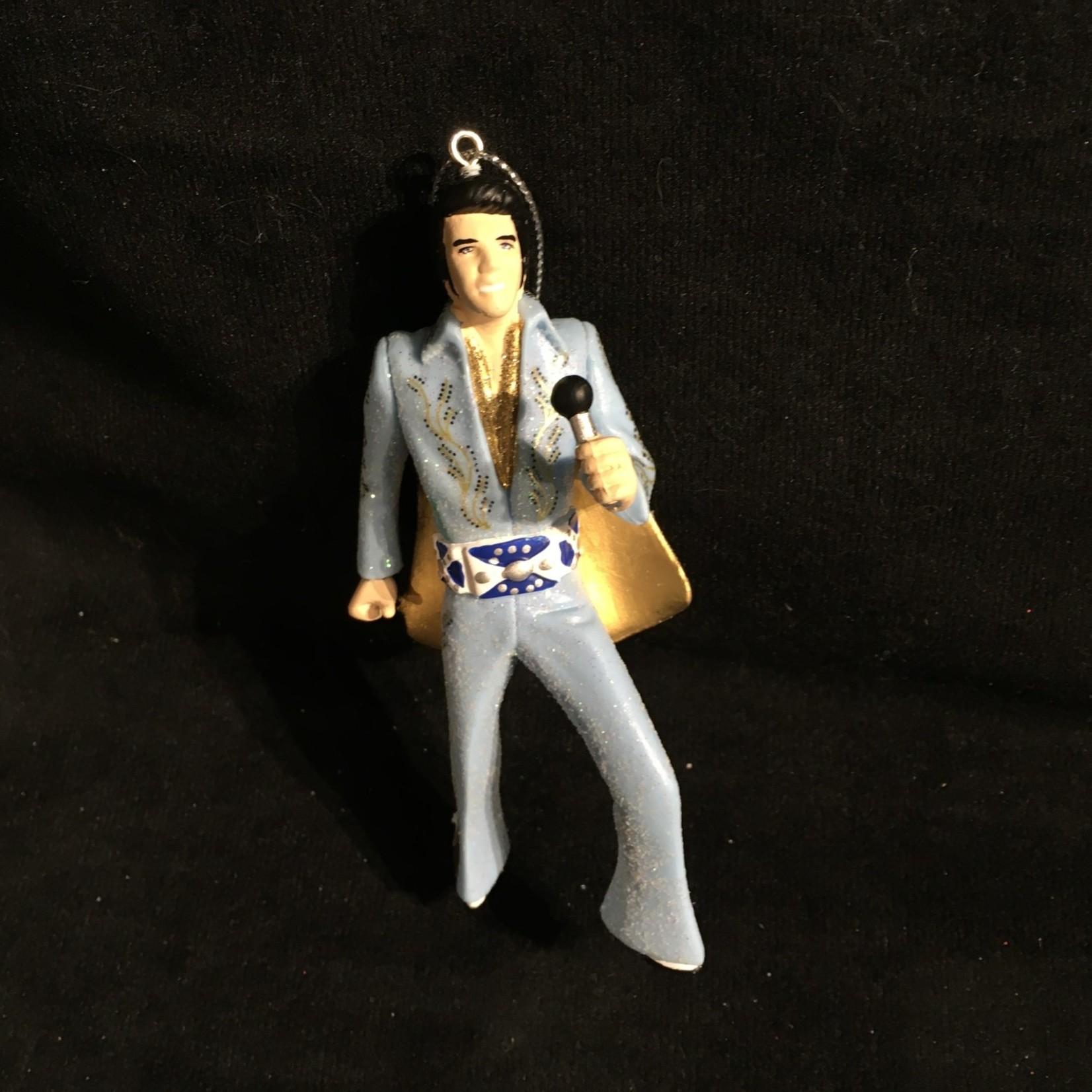 Blue Suit Elvis Orn