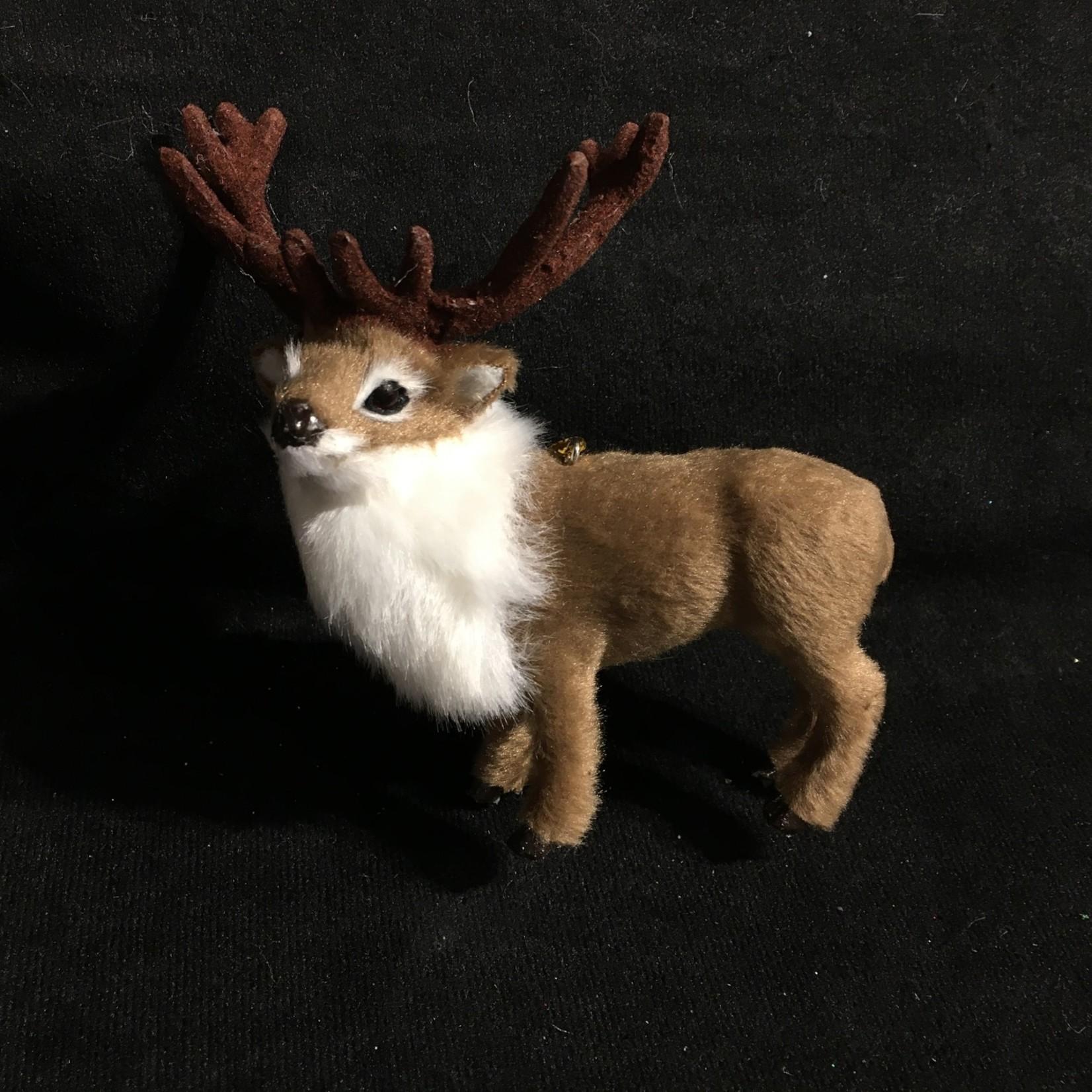 **Furry Reindeer Ornament