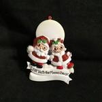 "Santa & Mrs Claus ""Love to Moon"""