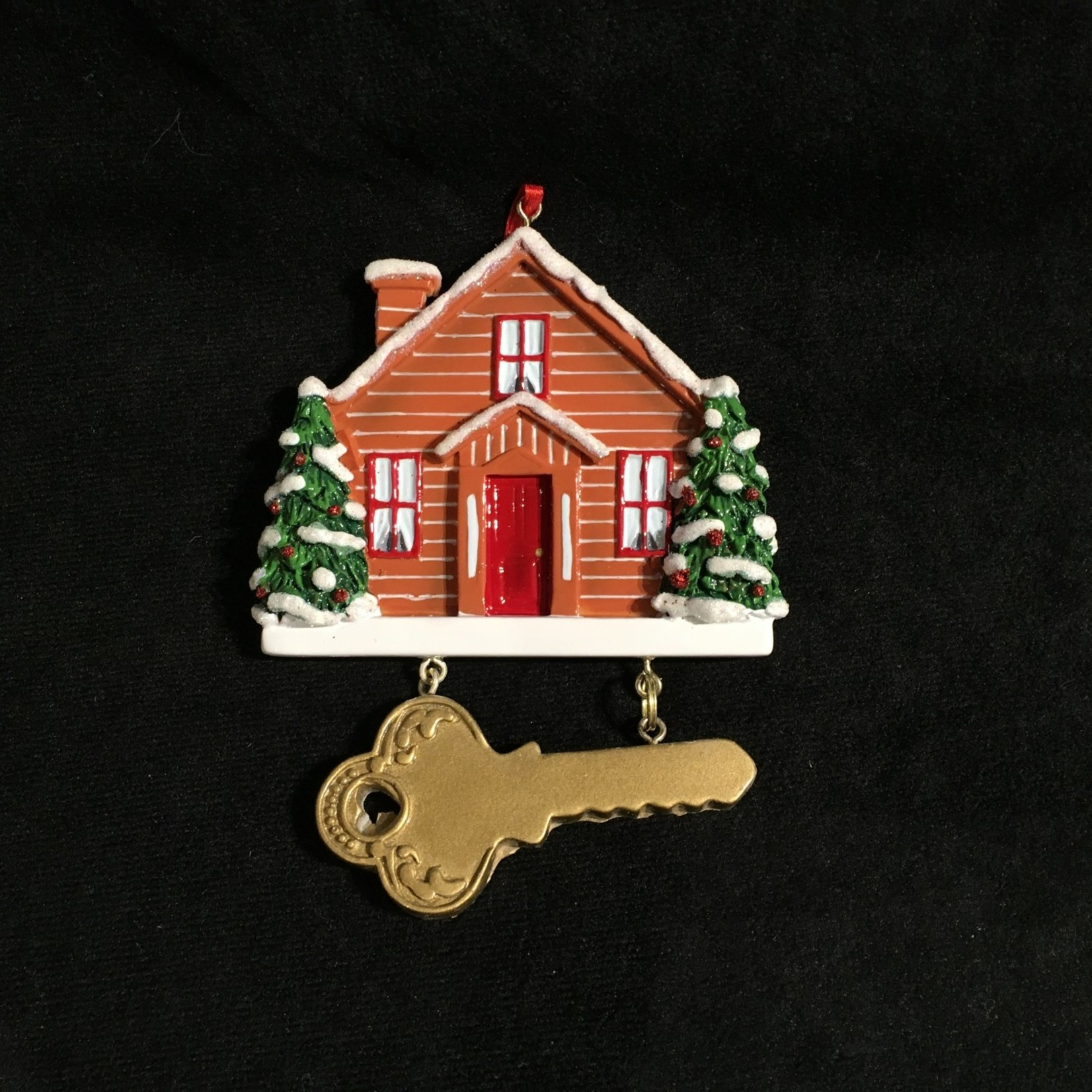 New Home w/Key Orn