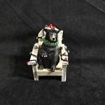 Muskoka Chair w/Black Bear Orn.