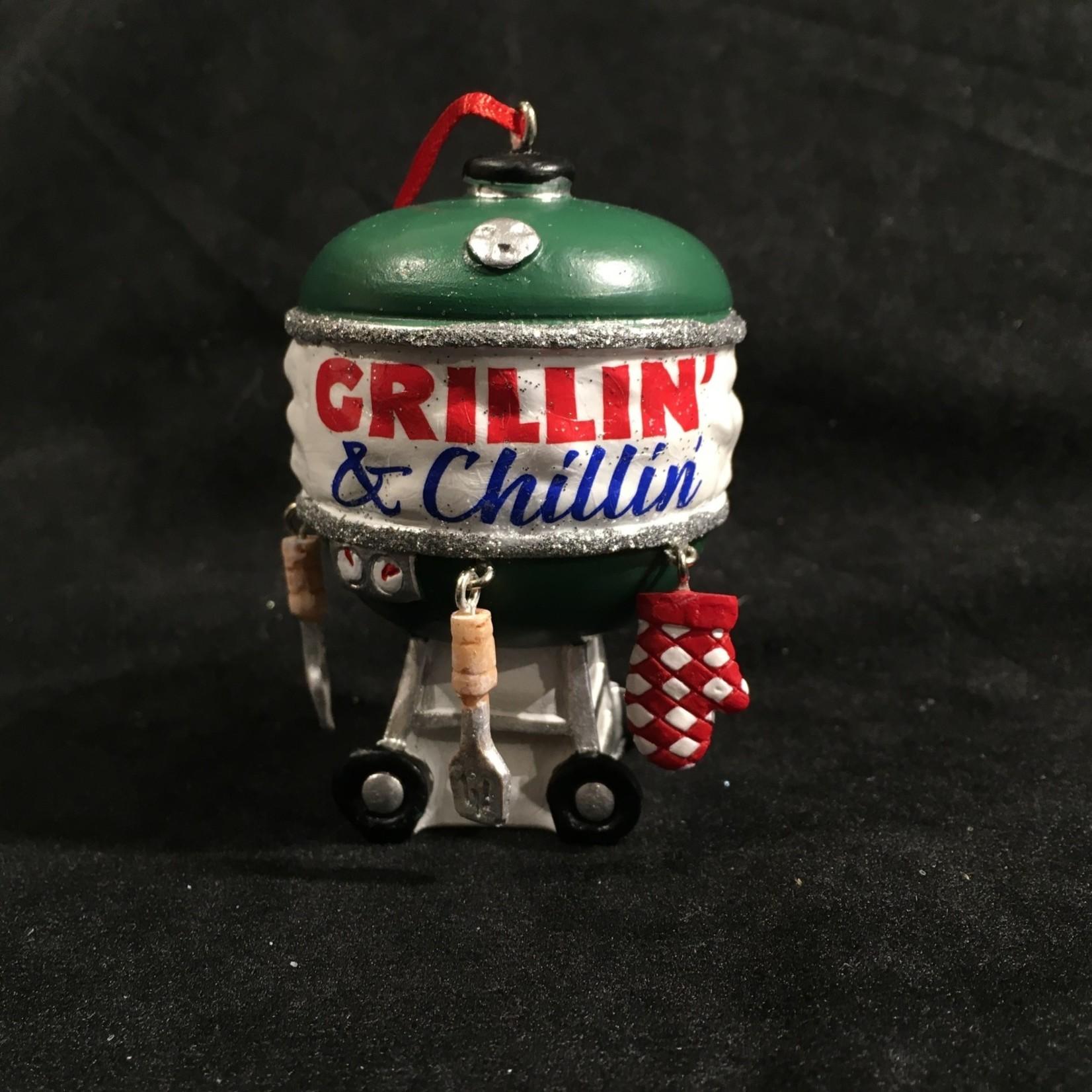 Grillin' & Chillin' Ornament