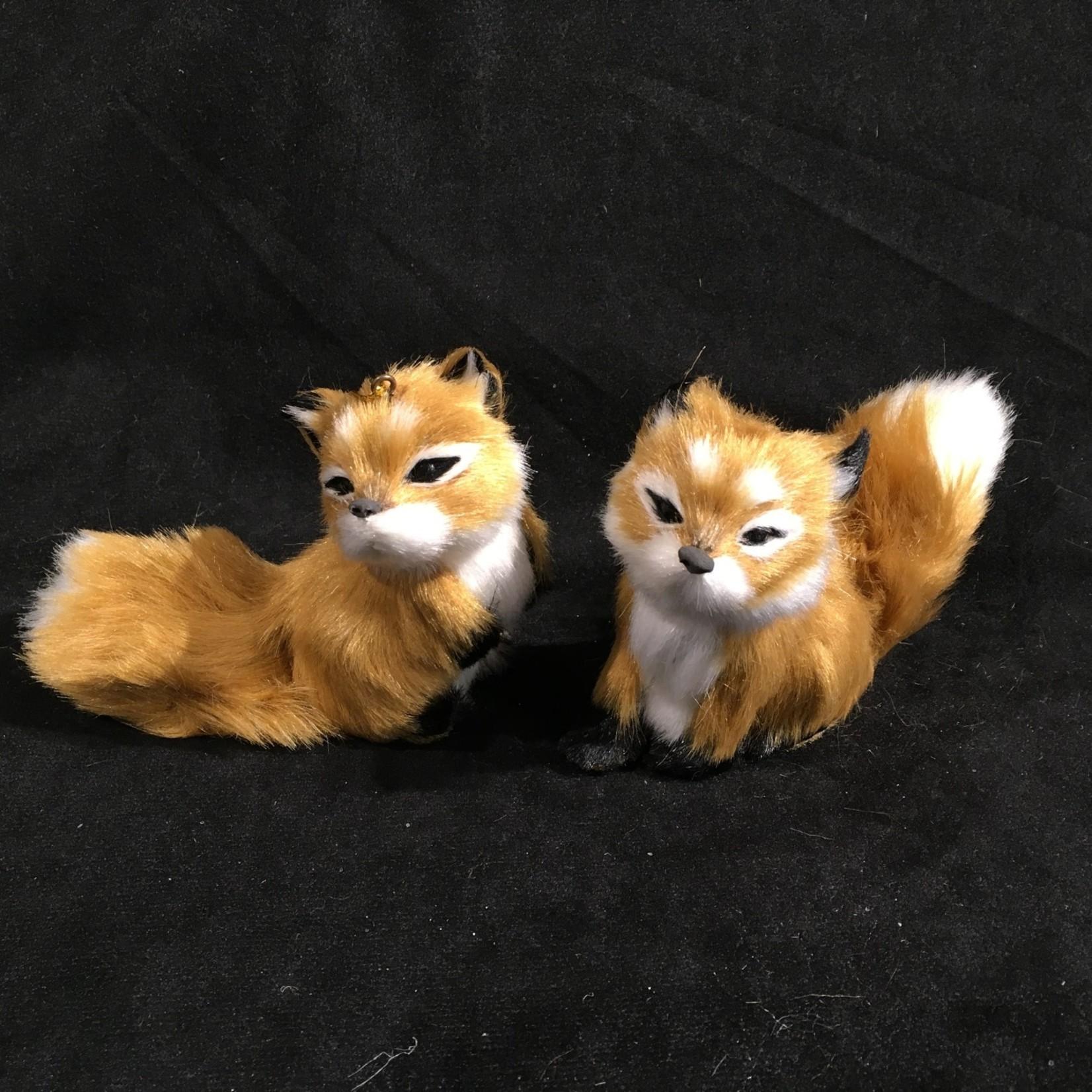 Plush Fox Orn 2A