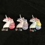 Unicorn w/Dangles Orn. 3A