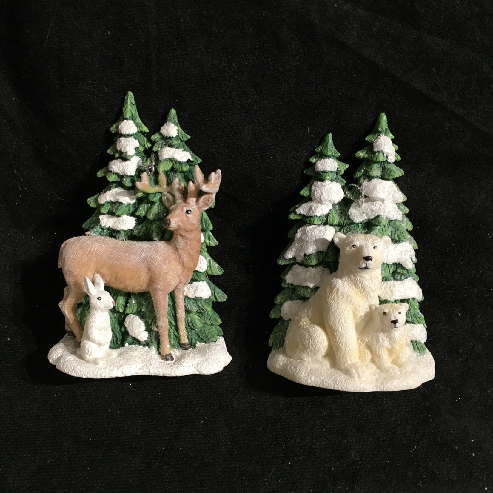 Deer/Polar Bear wTree 2A