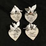 Dove Heart Orn 4A