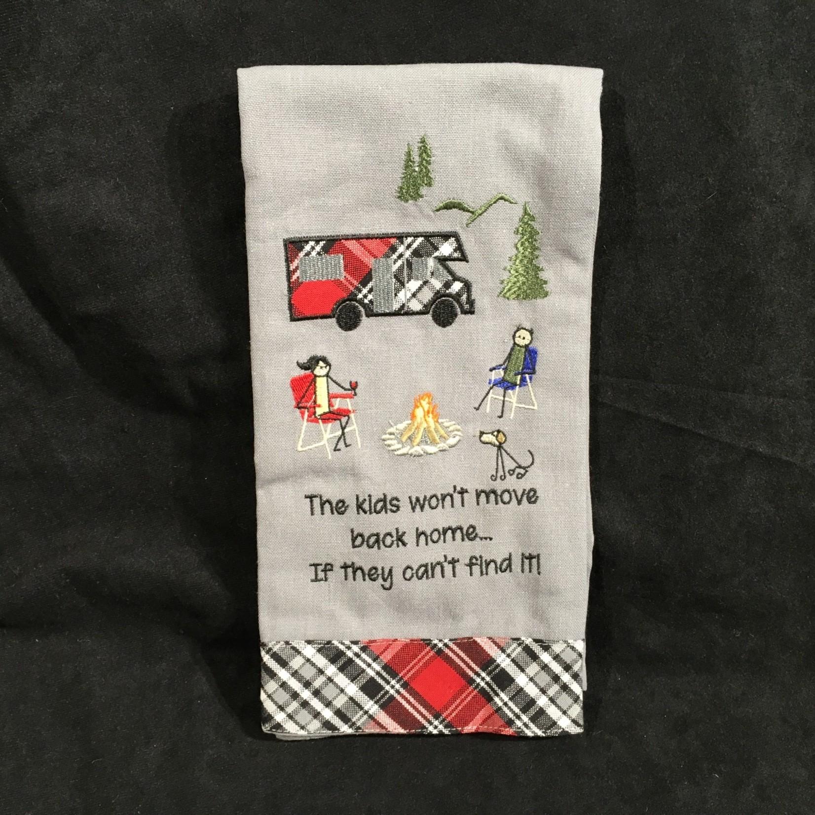 The Kids Won't Move Tea Towel
