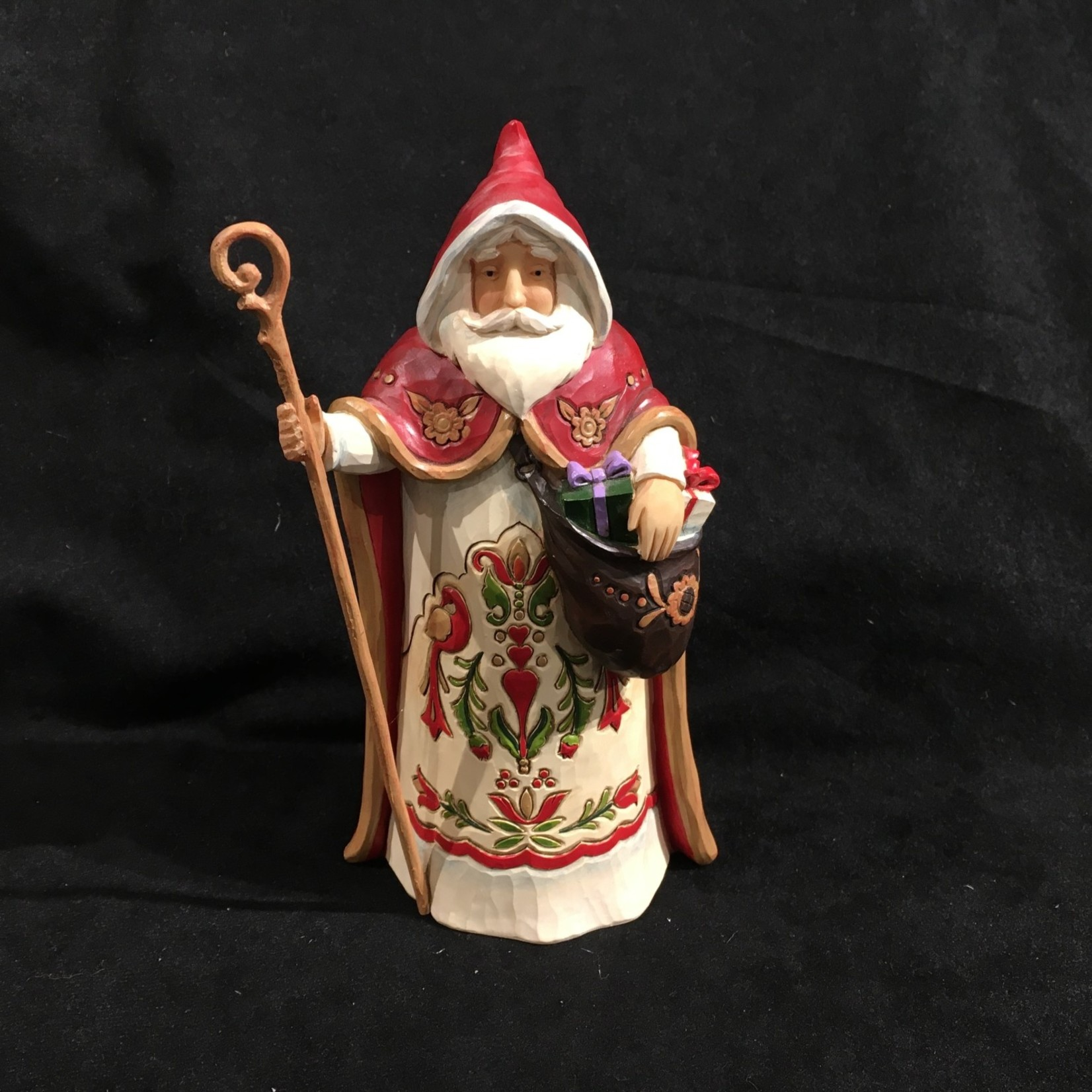 "Jim Shore - 7.5"" Austrian Santa"