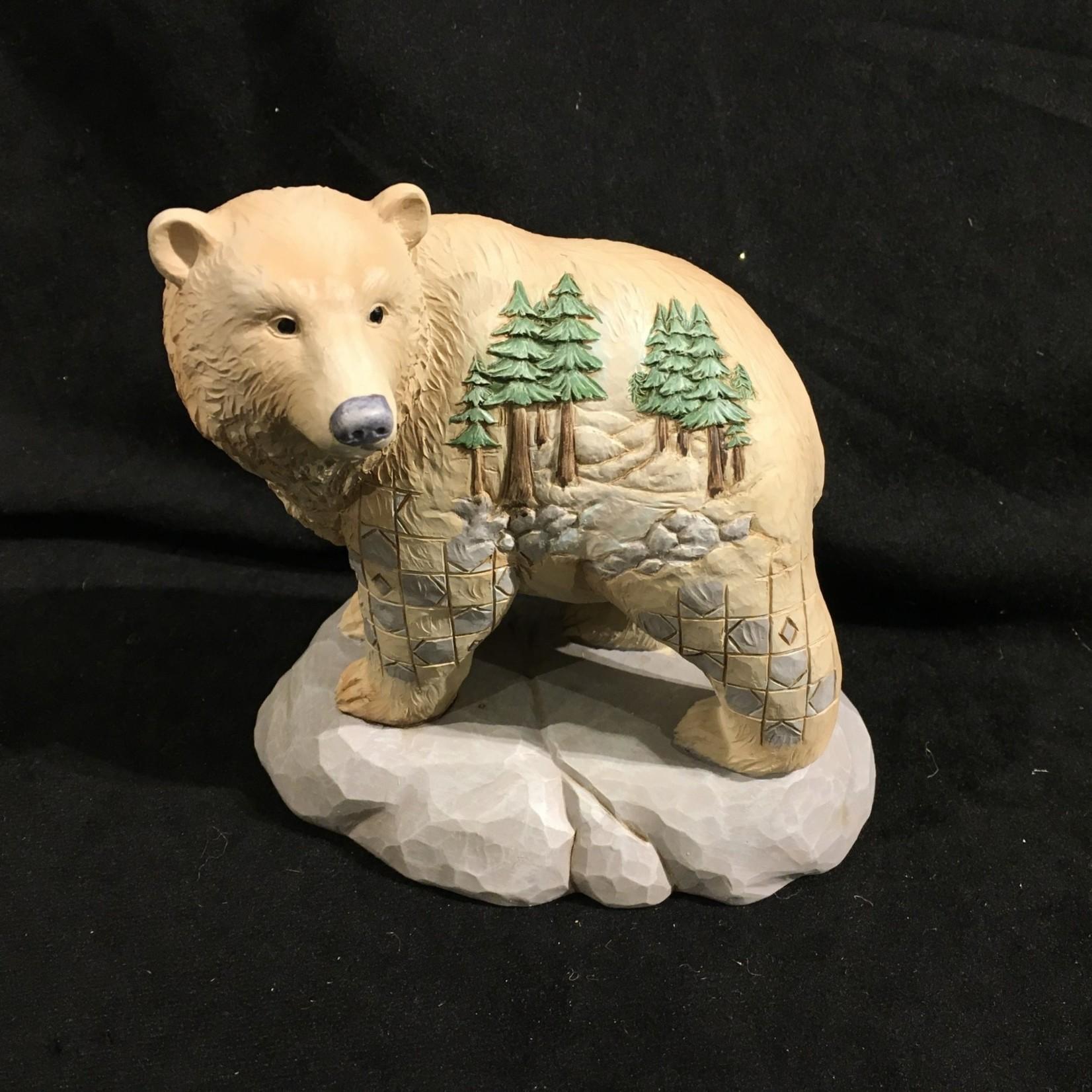 """Jim Shore - 5.5"""" Woodland Bear"""