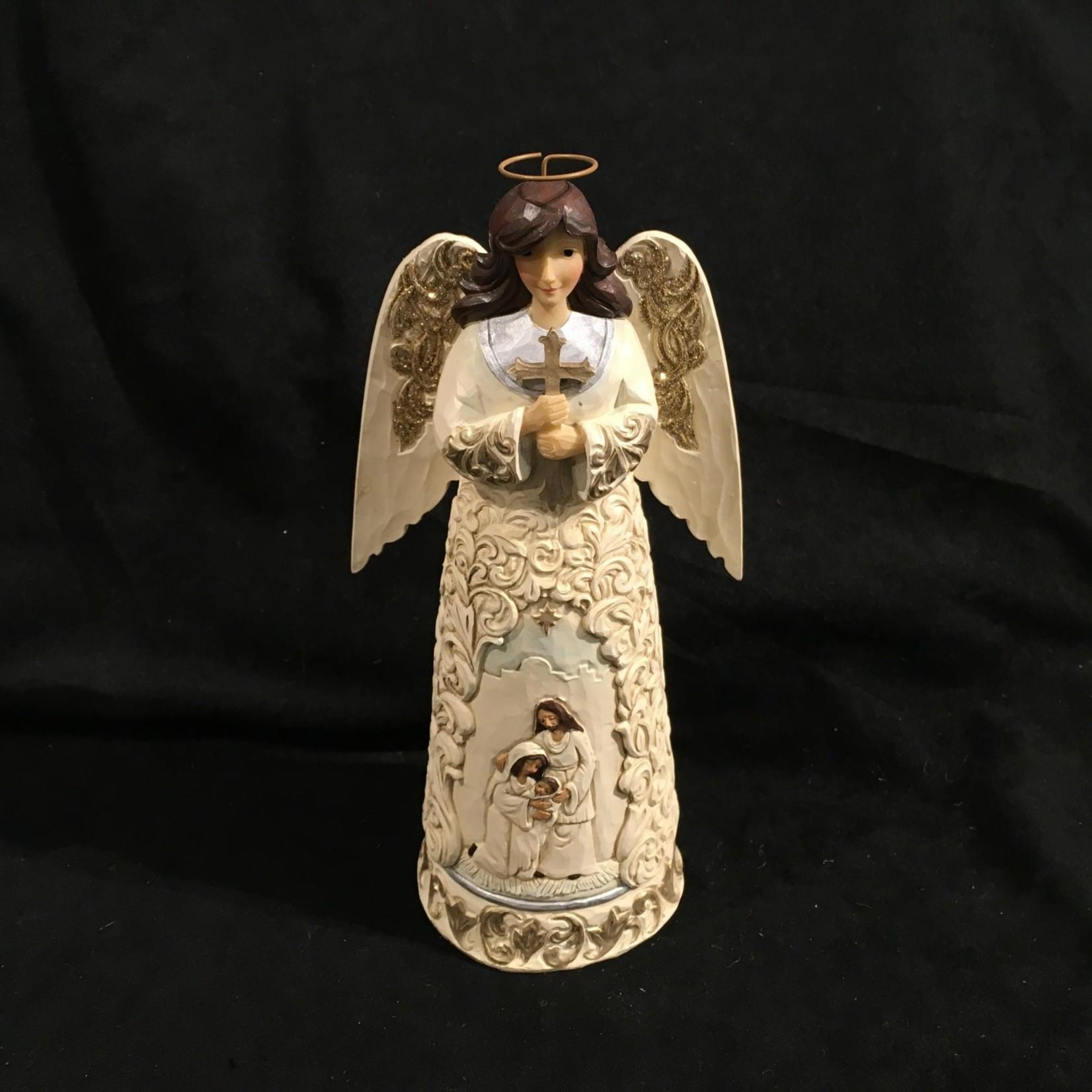 """Jim Shore - 9.75"""" Holiday Angel"""