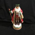 "Jim Shore - 10.25"" German Santa w/Staff"