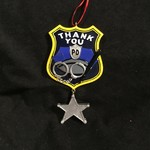 Police Badge Ornament