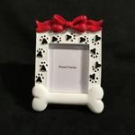 "**Dog Bone Frame (2x2.25""photo)"