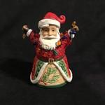"Jim Shore - 5"" Jolly Santa w/Lights"