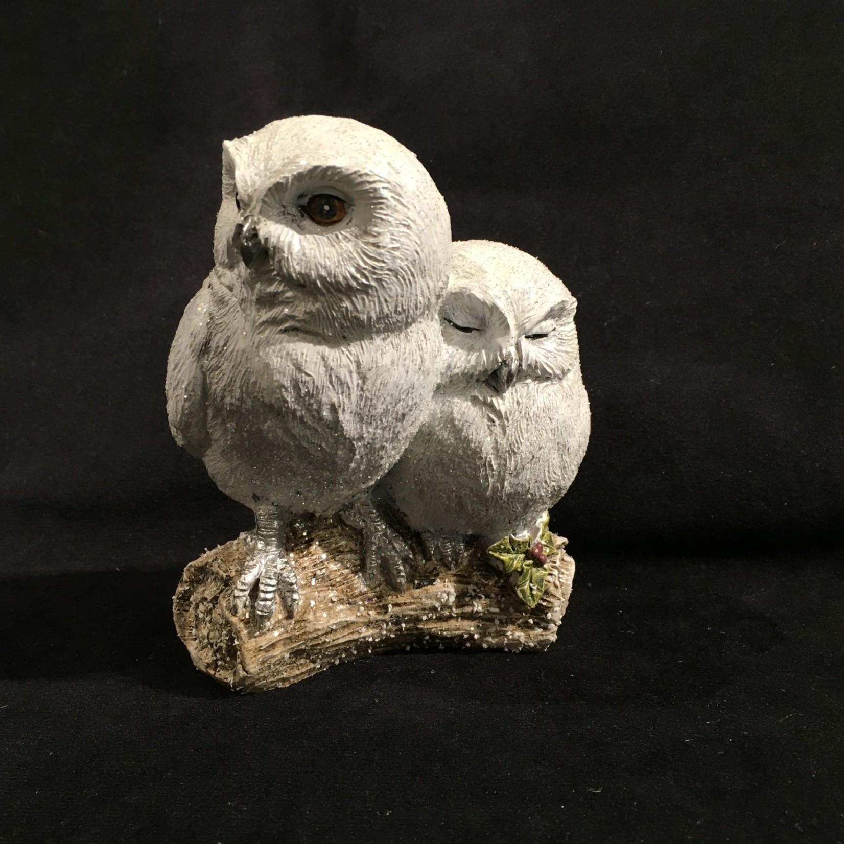 "5.25"" Owls on Branch Figurine"
