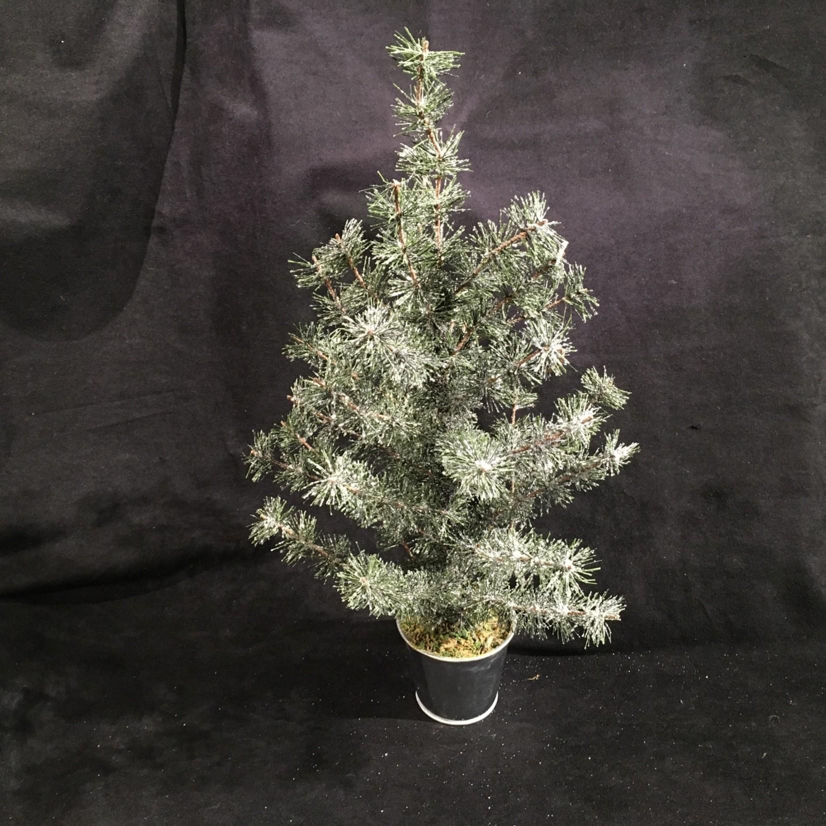 """18.5"""" Faux Glitter Tree"""