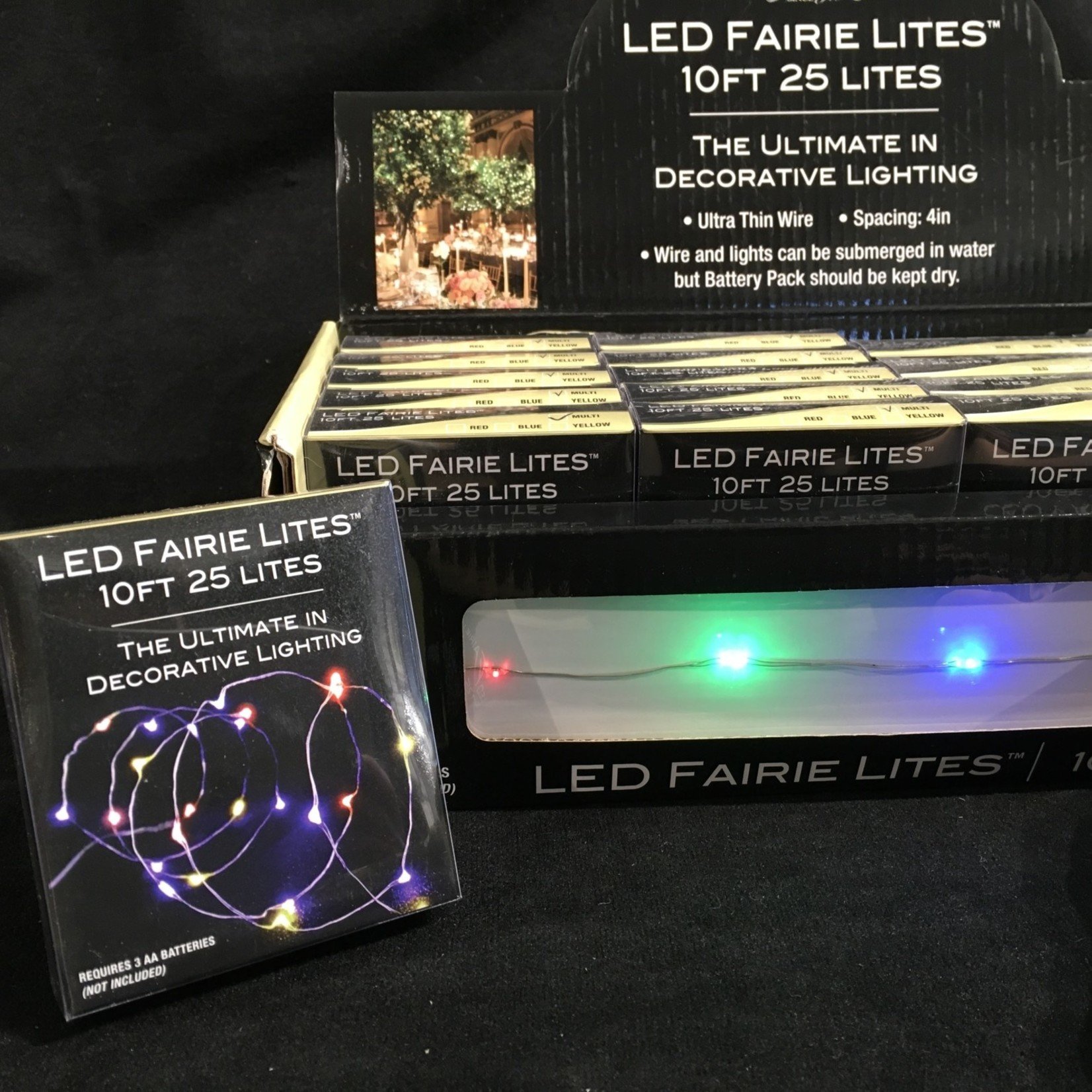 10' LED Multicoloured Fairie Lights