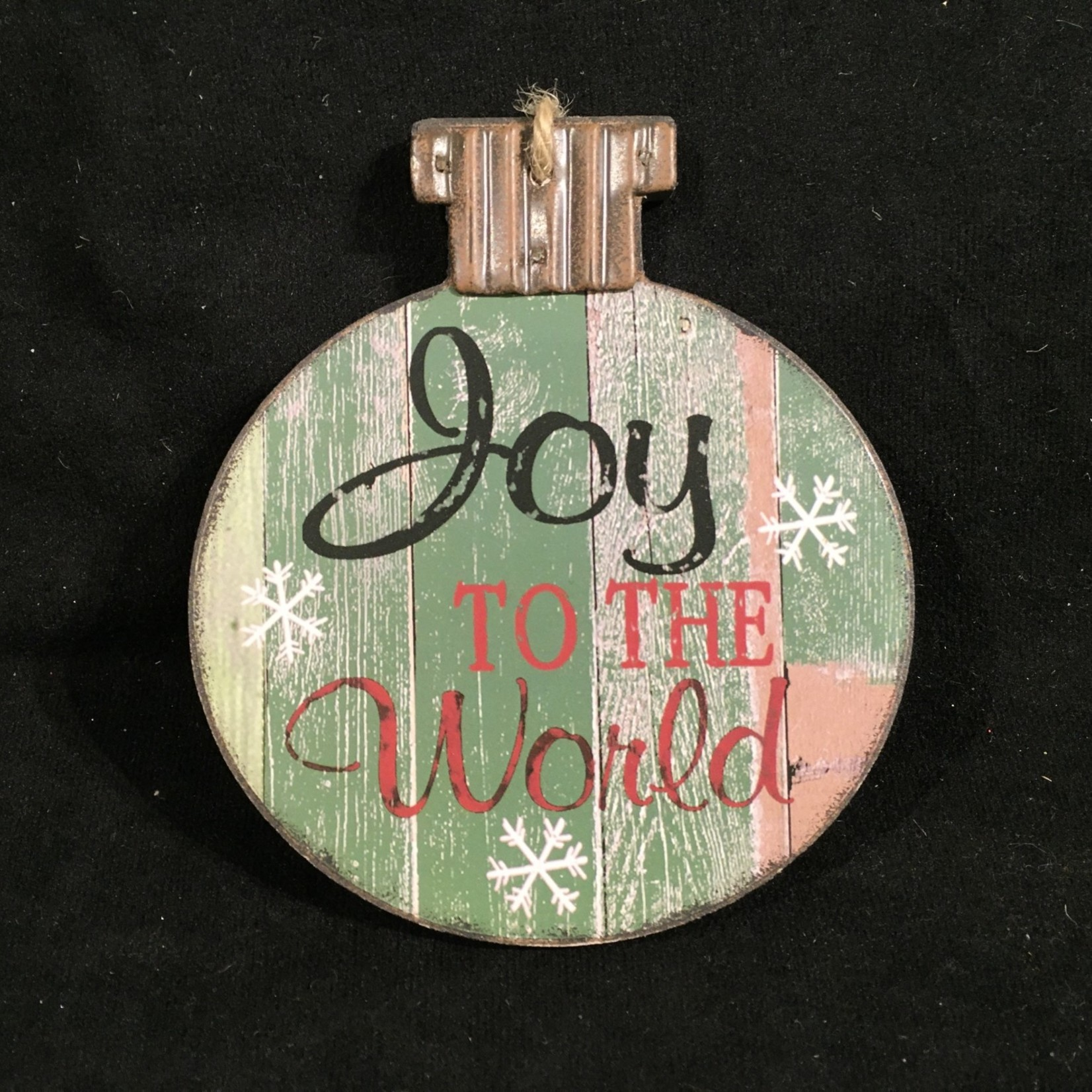 """**5"""" Rustic Ball Sign 3A"""
