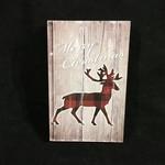 """5x8"""" Christmas Deer Decor"""