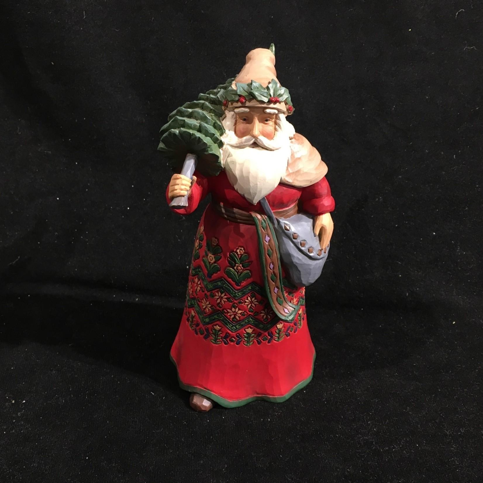 "Jim Shore - 7"" Swedish Santa"