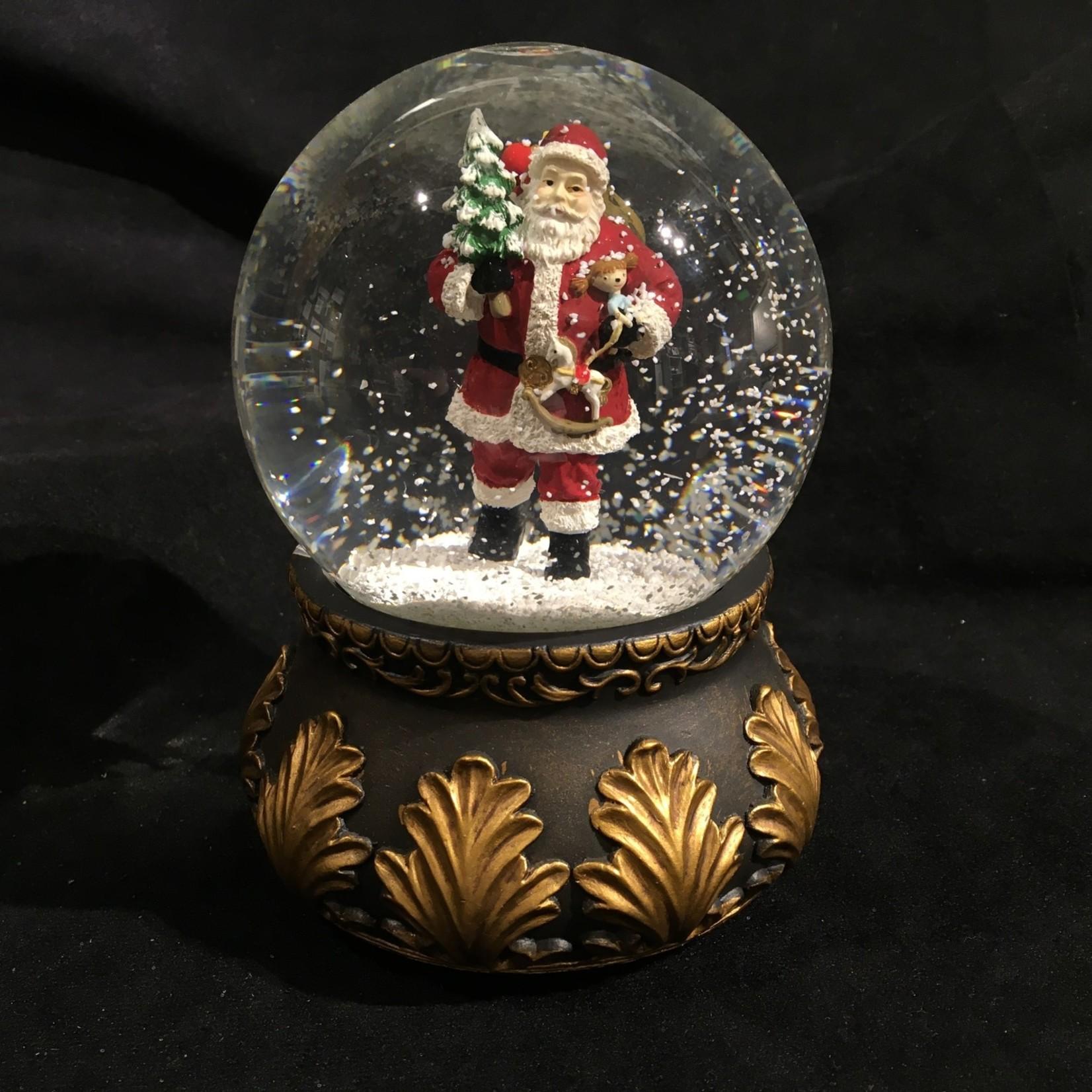 "6"" Classic Santa Musical Waterglobe"