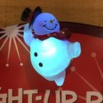 """2.5"""" Snowman Light Up Pin"""