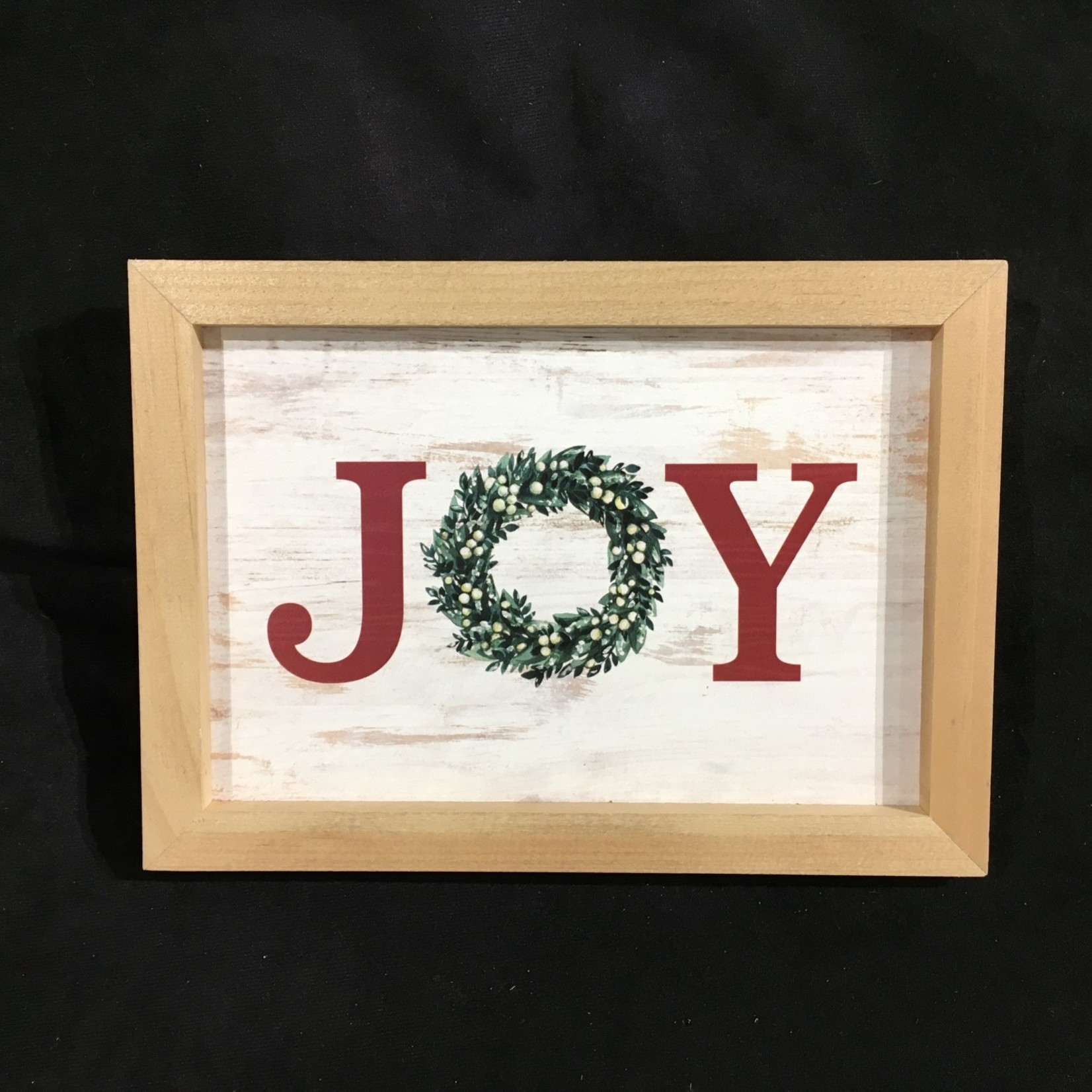 """Framed Joy Sign (7x10"""")"""