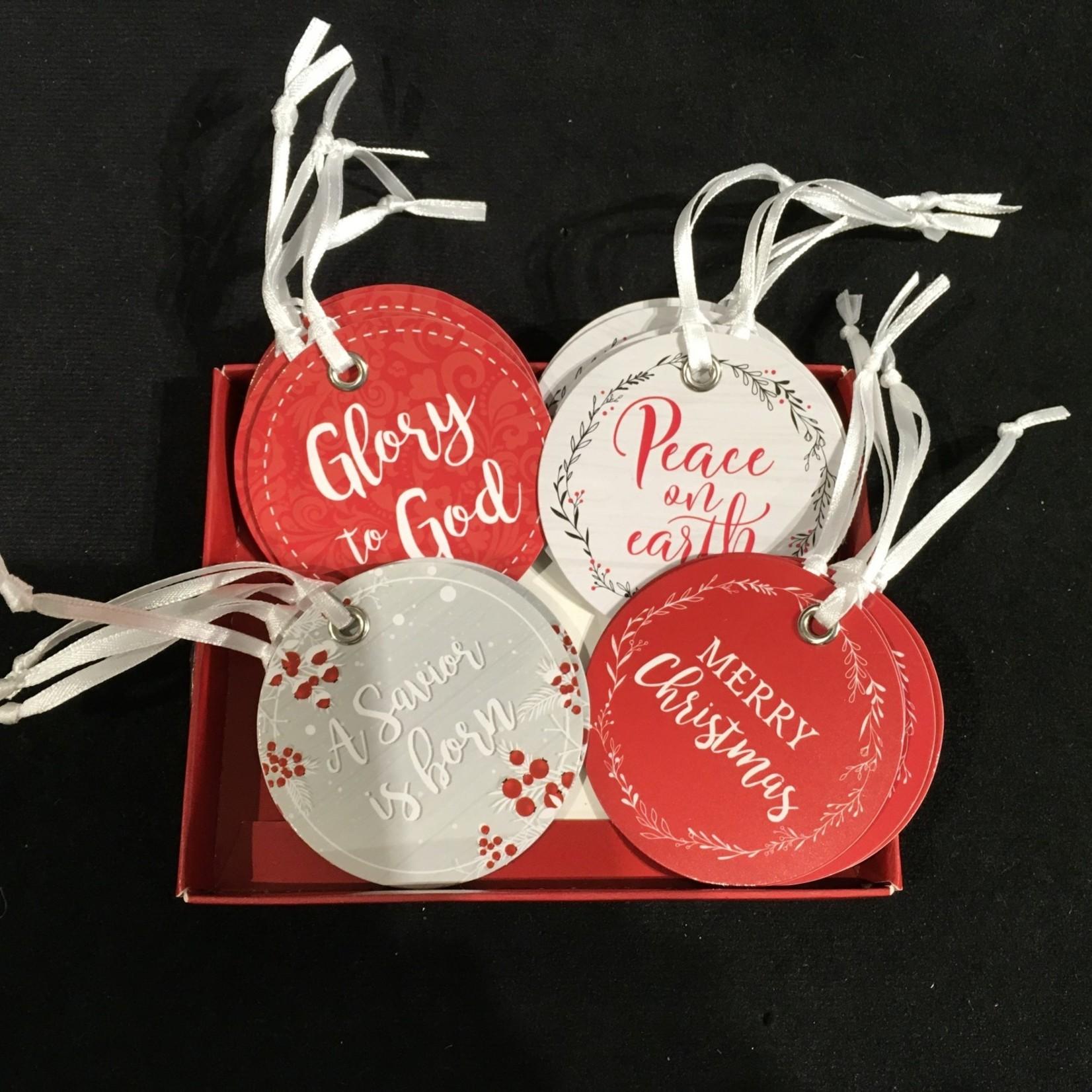 Christmas Gift Tag  4A (16 pk)
