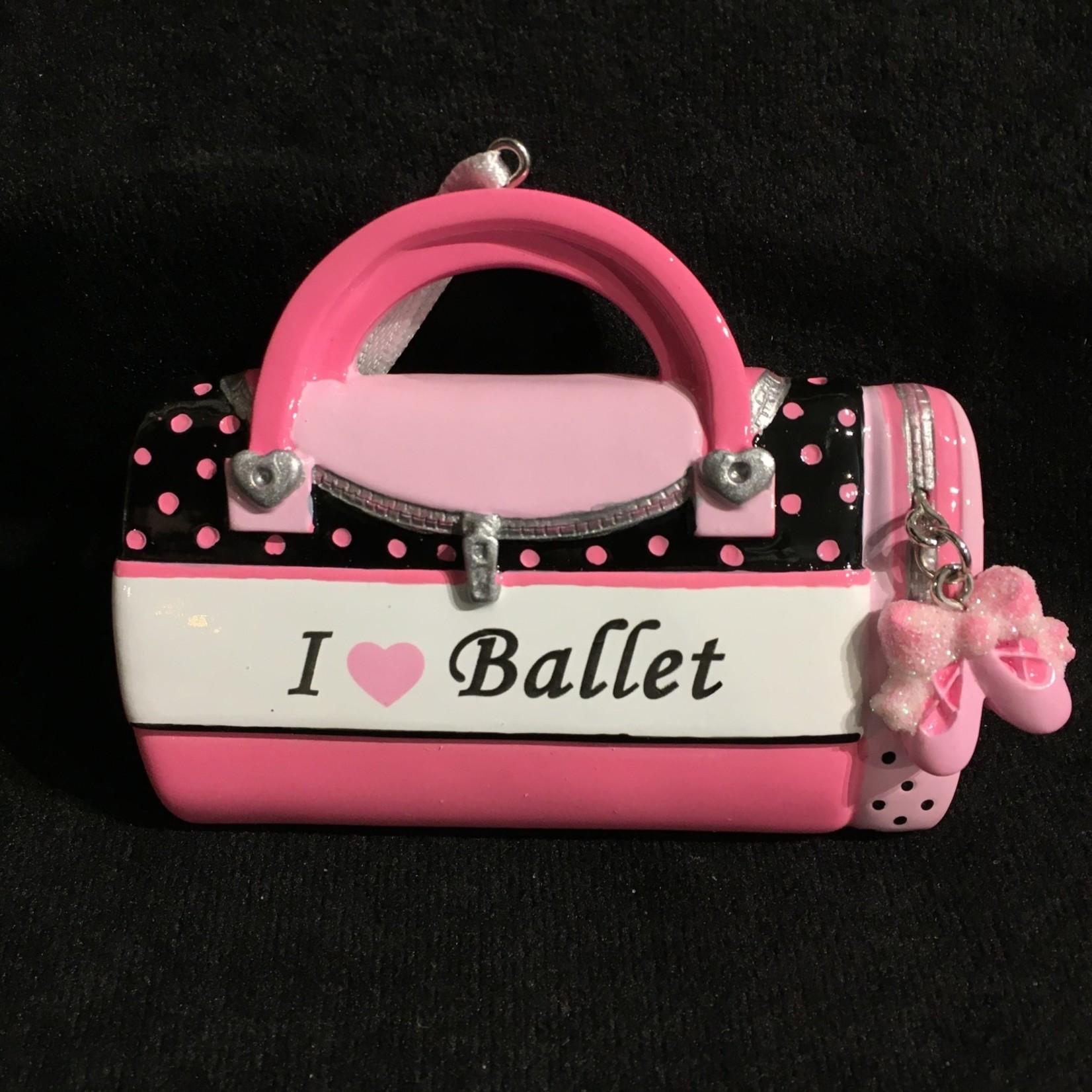 Dance Bag - I Love Ballet Orn.