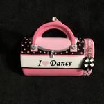 Dance Bag Orn. - I Love Dance