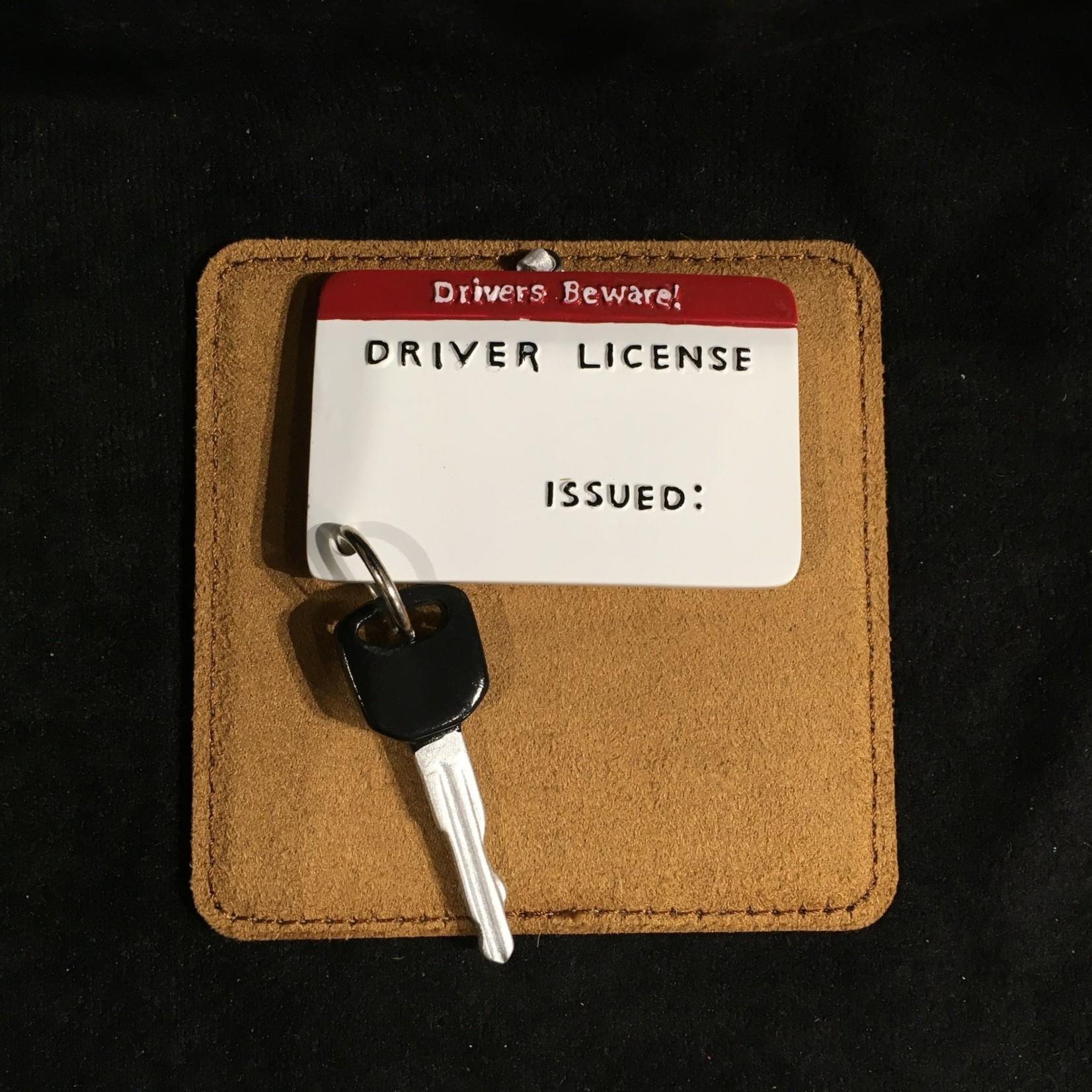 Drivers License w/Key Ornament