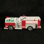 **Personalized Firetruck Ornament