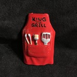 King of the Grill Apron Orn