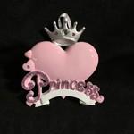 Princess Heart Ornament