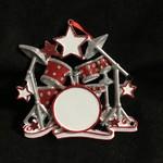 Drum Set w/Star Ornament