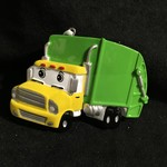 Personalized Garbage Truck Orn